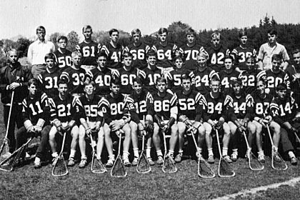 1965 Lacross Team