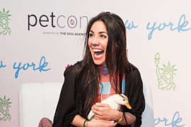 Loni and duck