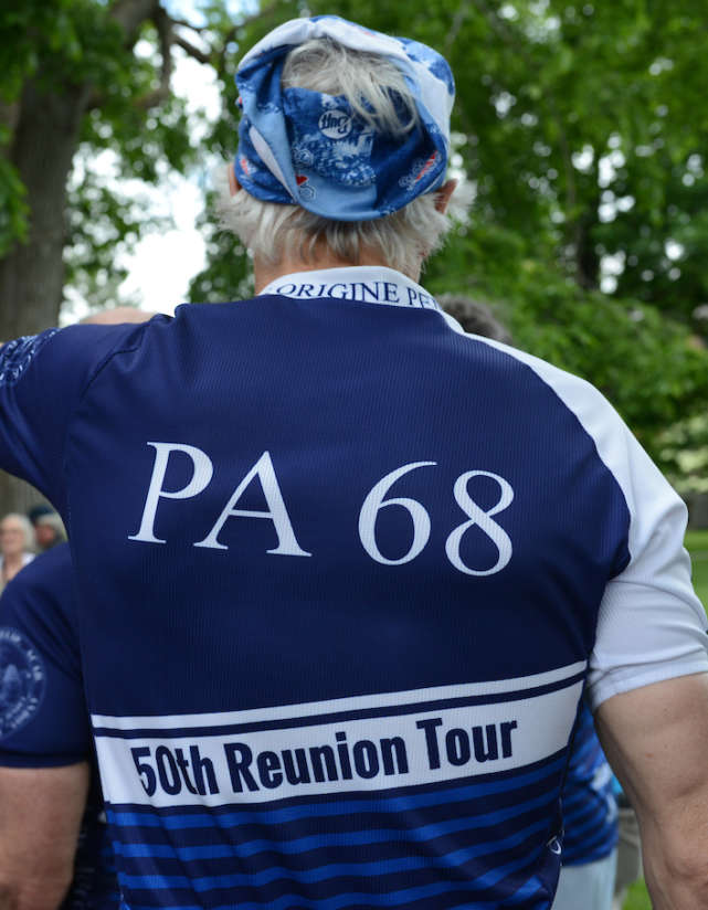 PA Class of '68 Reunion Tour. Photo by Tory Wesnofske.