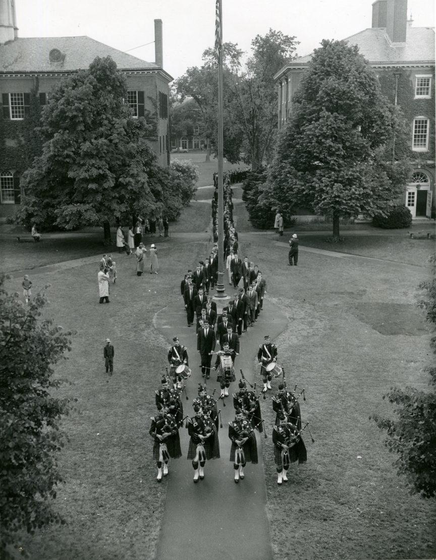 1956 Commencement