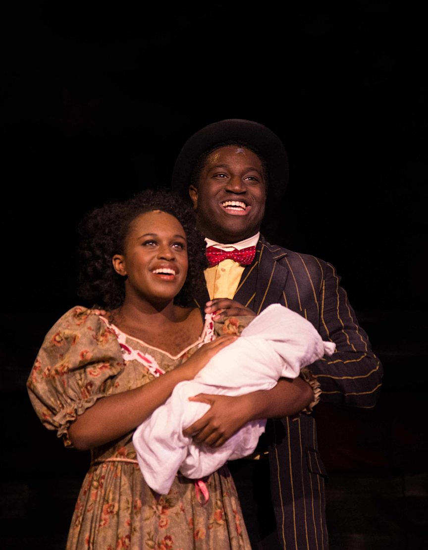 Two students in Ragtime