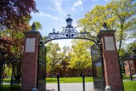 Abbot Campus Gates