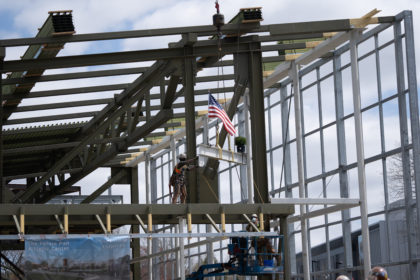 """Pan Athletic Center """"Topping Off"""" Ceremony"""