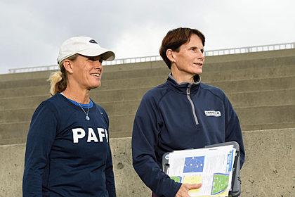 Martha Fenton and Kate Dolan