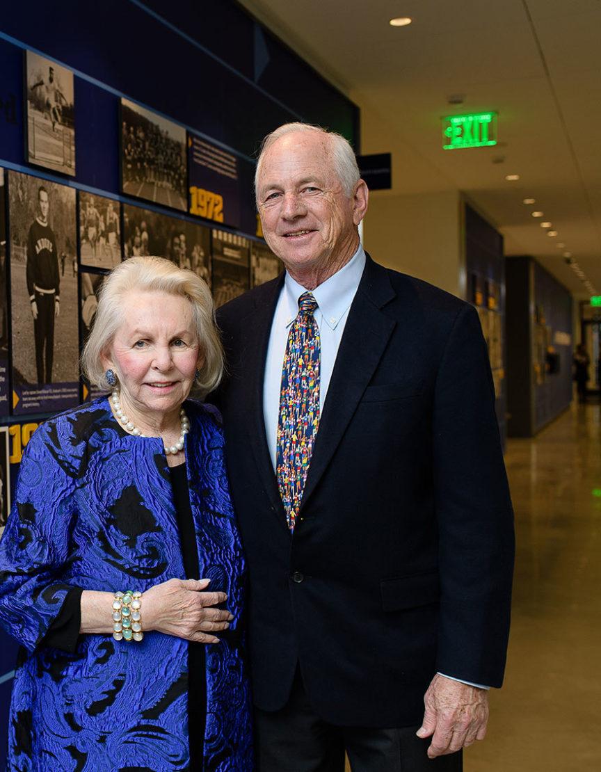 Steve and Adele Snyder