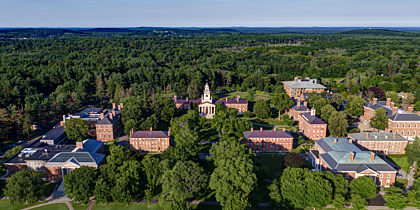 Aerial View of Phillips Academy
