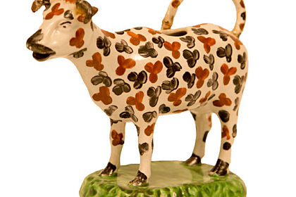 image of cow creamer